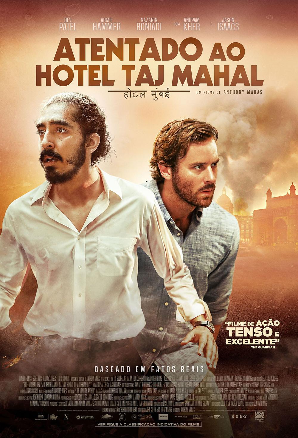 "Cartaz ""Atentado ao Hotel Taj Mahal"""