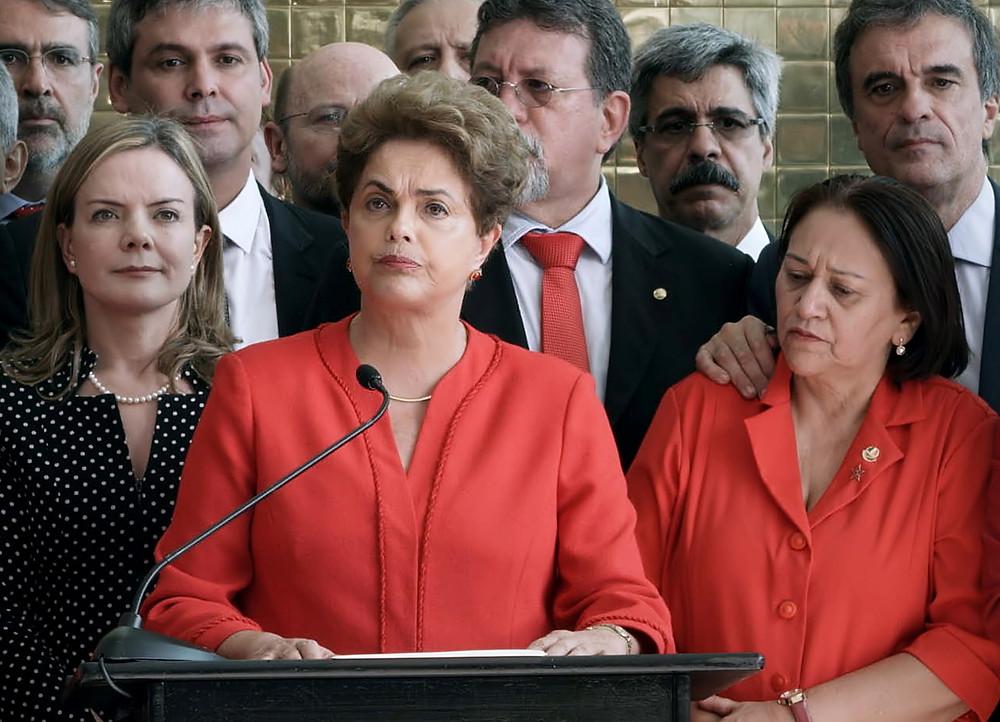 """Dilma Roussef em """"O Processo"""""""