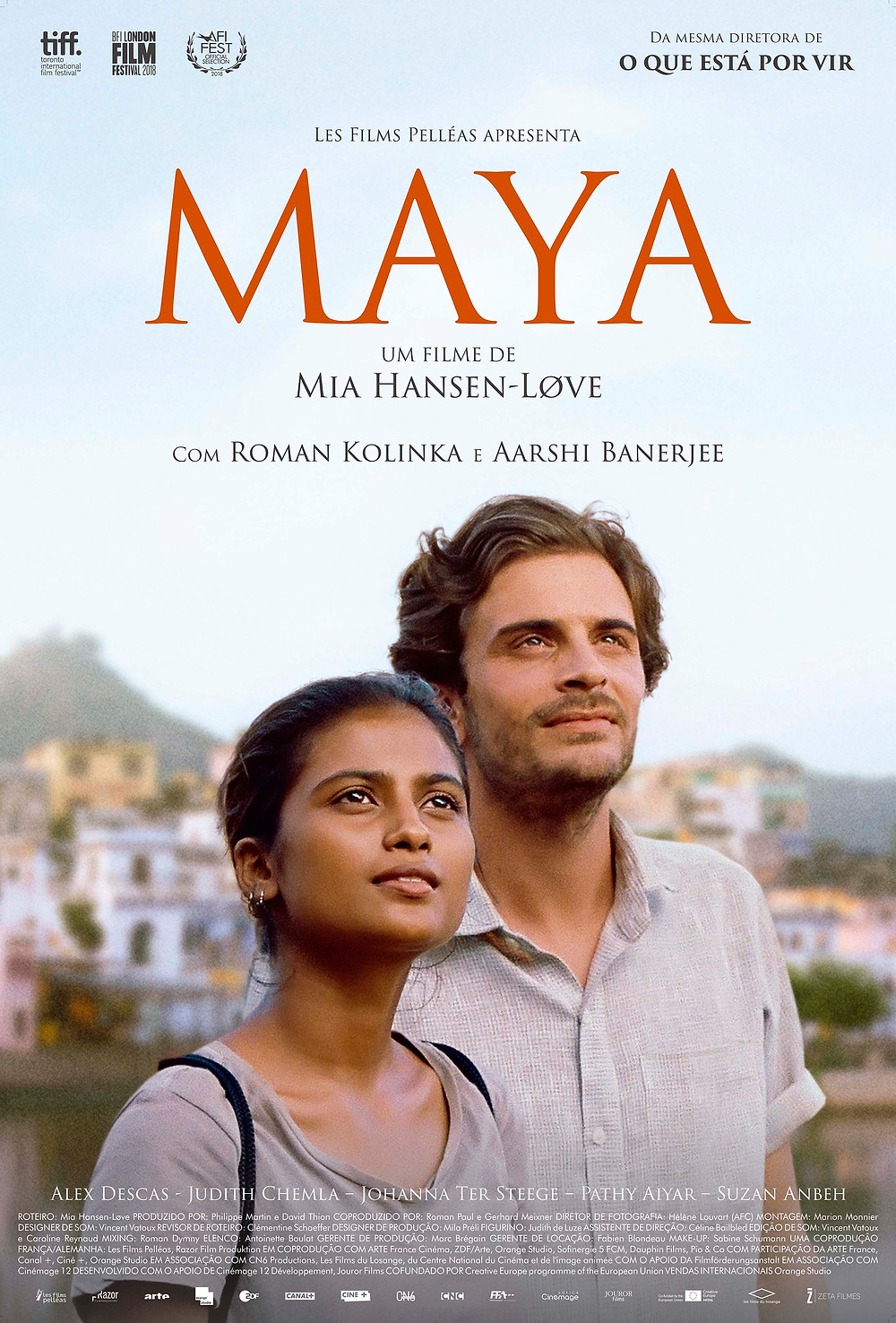 """Cartaz """"Maya"""""""