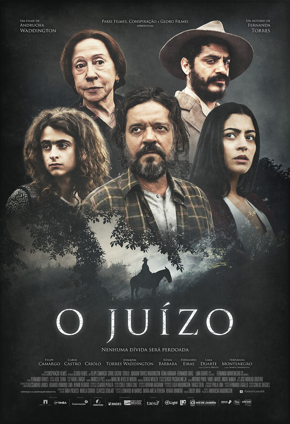 """Cartaz de """"O Juízo"""""""
