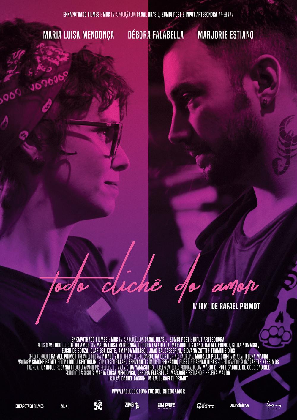 cartaz Todo Clichê do Amor