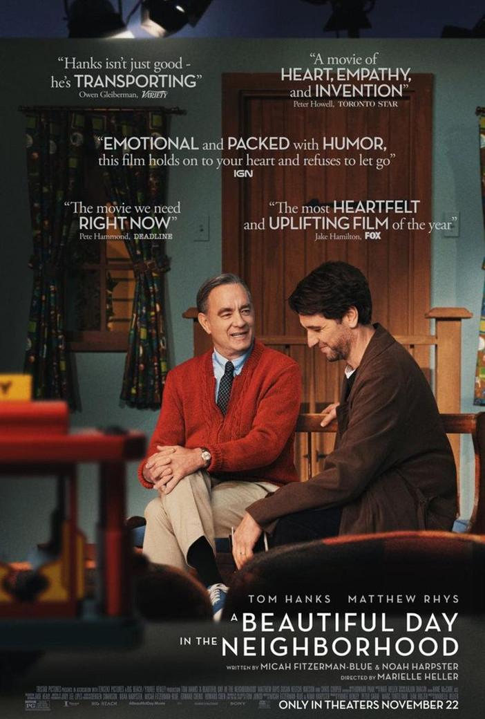 """""""Um Lindo Dia na Vizinhança"""": uma história de Fred Rogers, com Tom Hanks"""