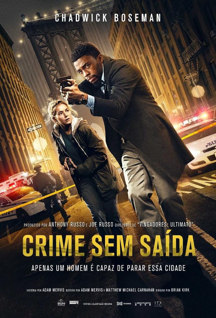 """Muita ação em """"Crime sem Saída"""", com Chadwick Boseman"""