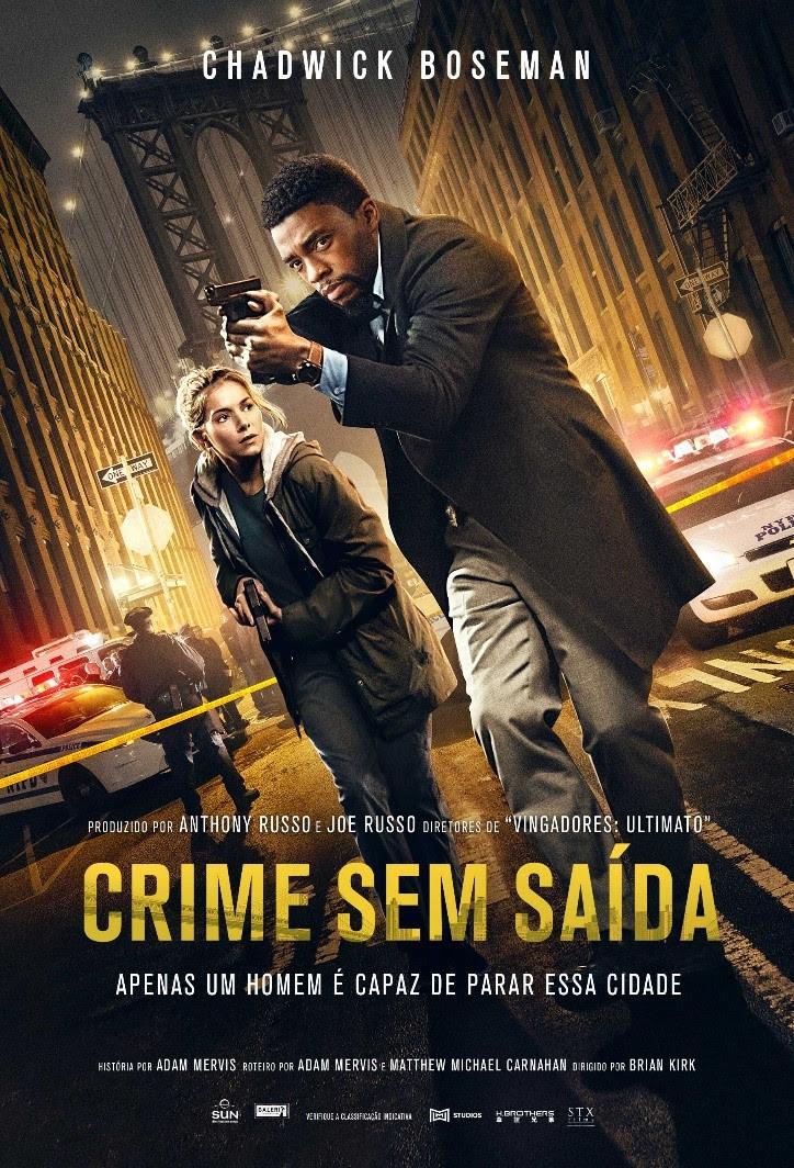 "Cartaz ""Crime Sem Saída"""