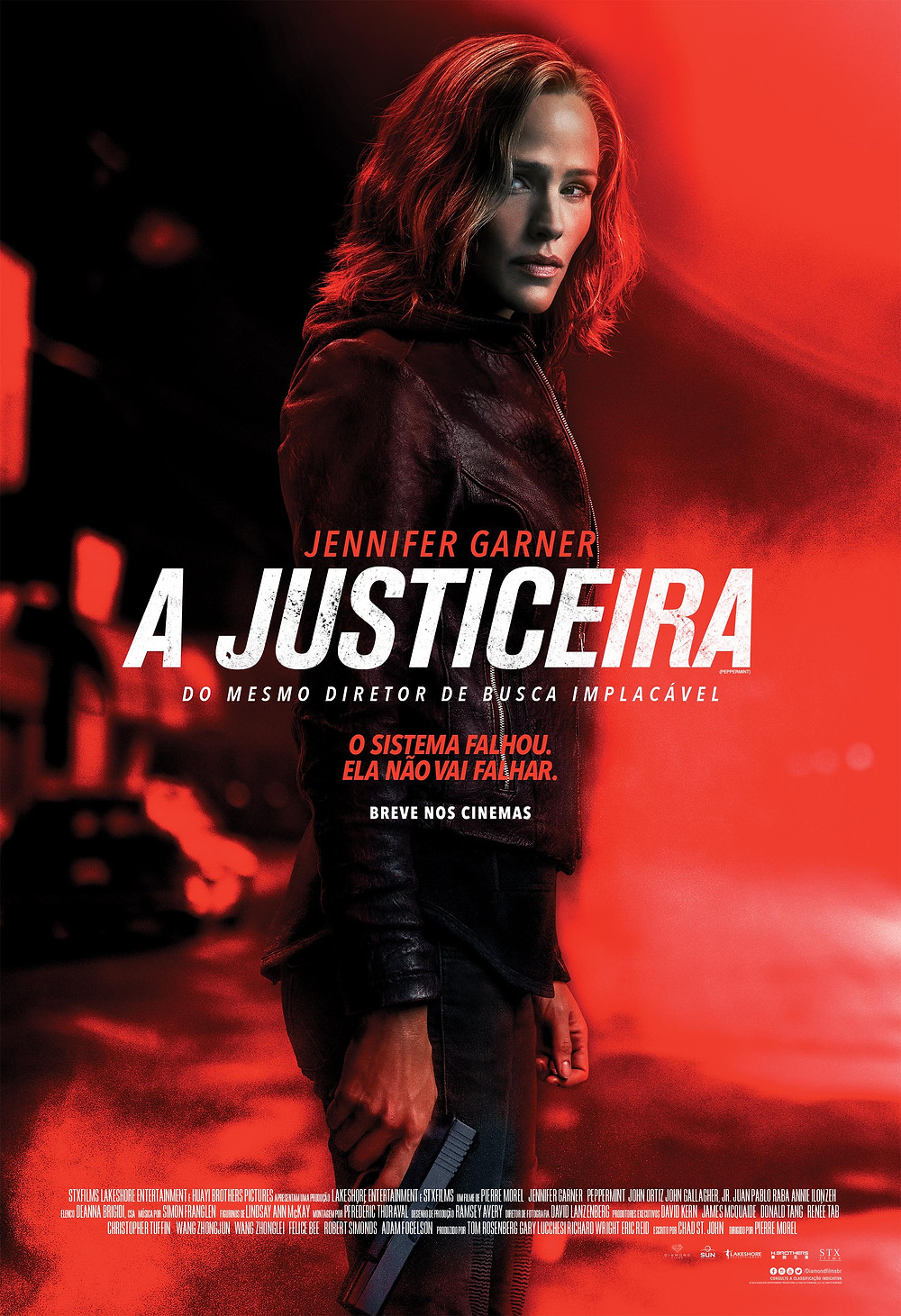 "Poster ""A Justiceira"""