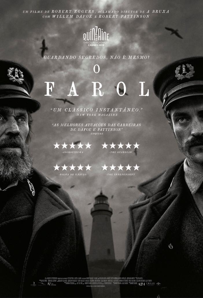 """O Farol"", com Willem Dafoe e Robert Pattinson"
