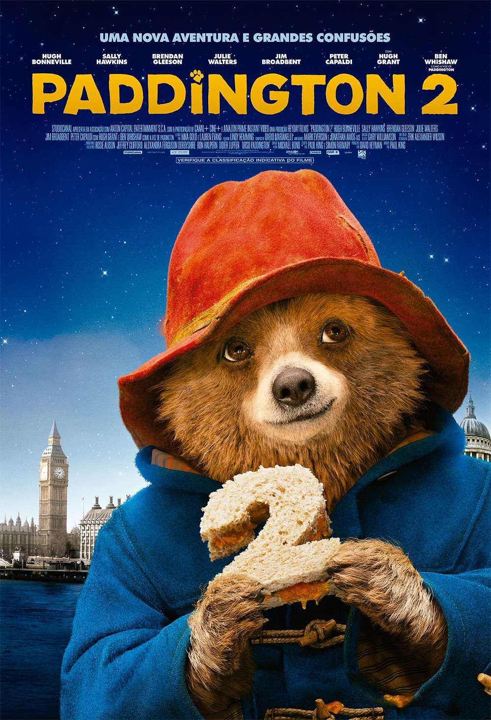 cartaz Paddington 2