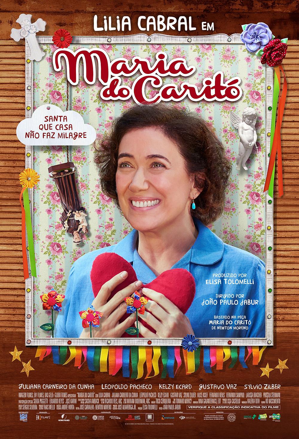 """Pôster de """"Maria do Caritó"""""""