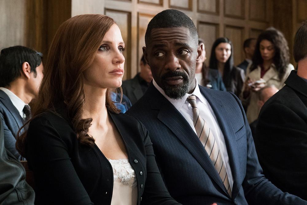 """Jessica Chastain e Idris Elba em """"A Grande Jogada"""""""