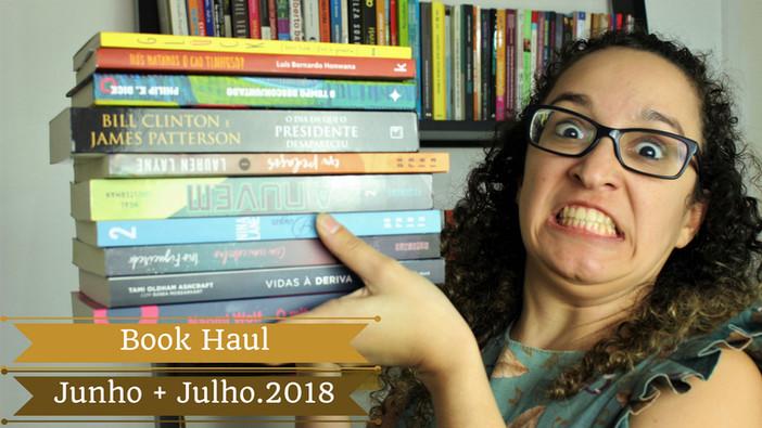 #blábláblá - Book Haul Junho + Julho.2018