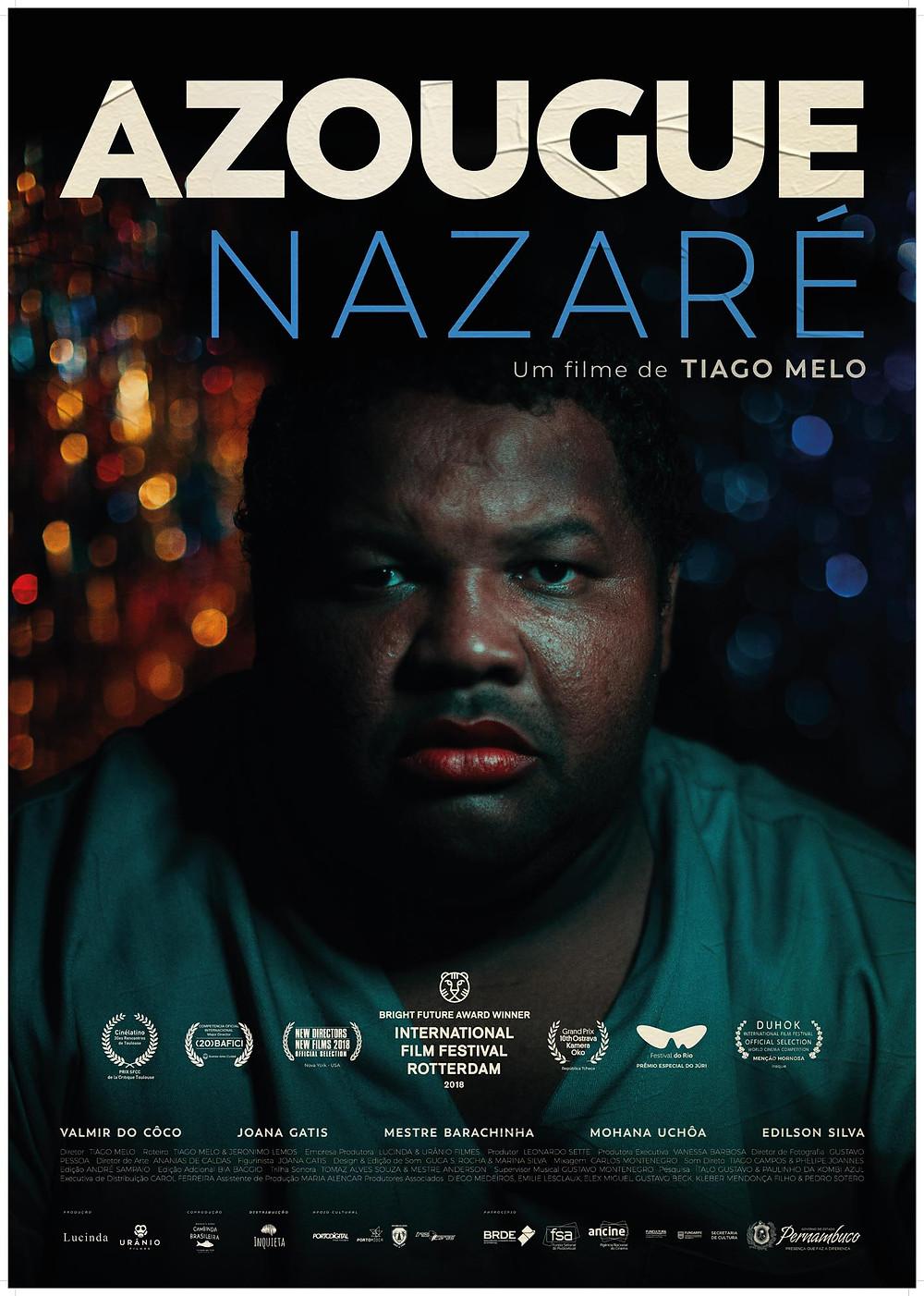 """Cartaz de """"Azougue Nazaré"""""""