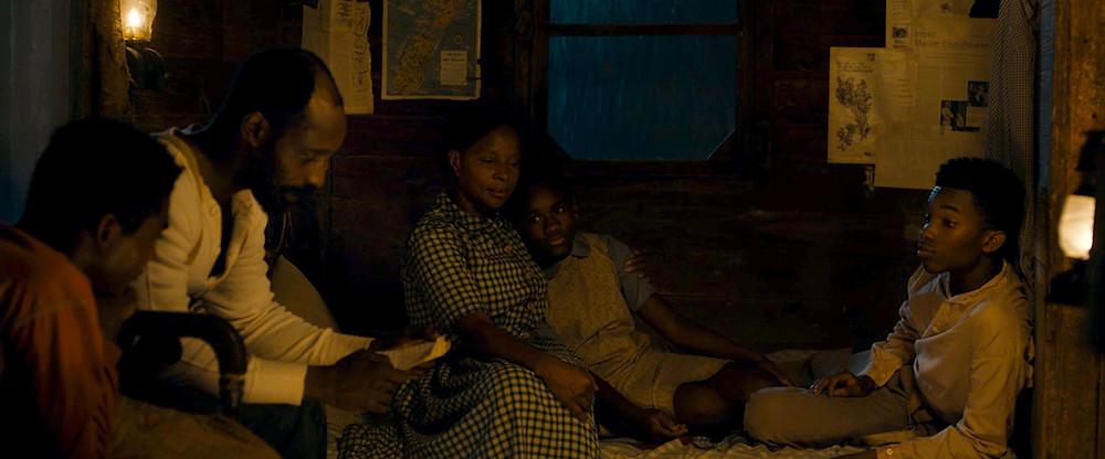 cena de Mudbound - Lágrimas sobre o Mississipi