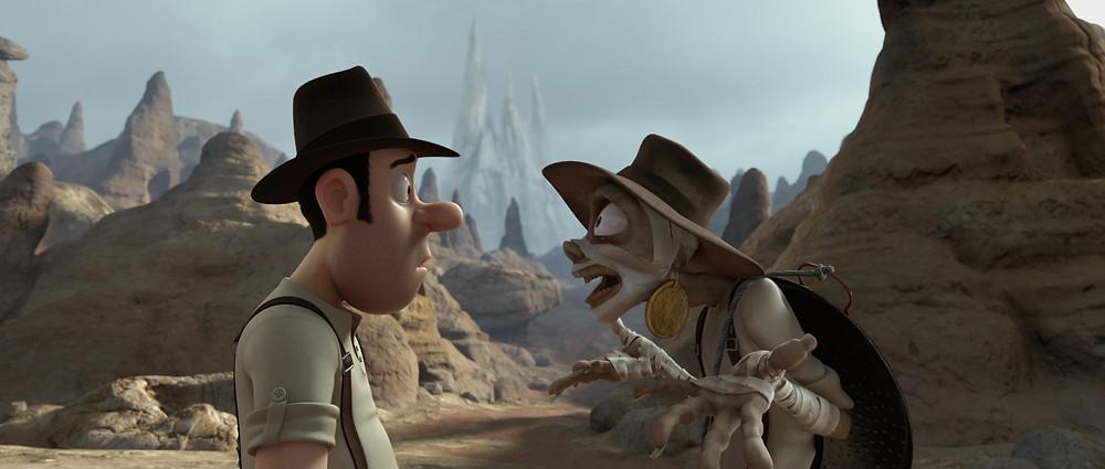 Múmia e Tadeo Stones