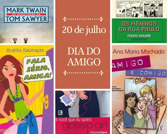 """""""Dia do Amigo"""": cinco livros sobre amizade"""