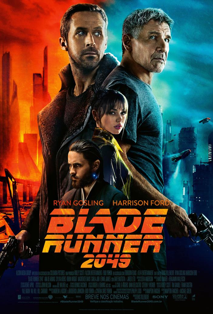 """Ryan Gosling e Harrison Ford em """"Blade Runner 2049"""""""