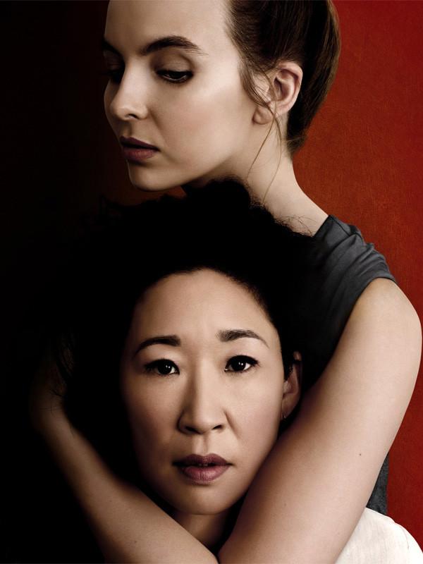 """A premiada """"Killing Eve"""", com Sandra Oh e Jodie Comer"""