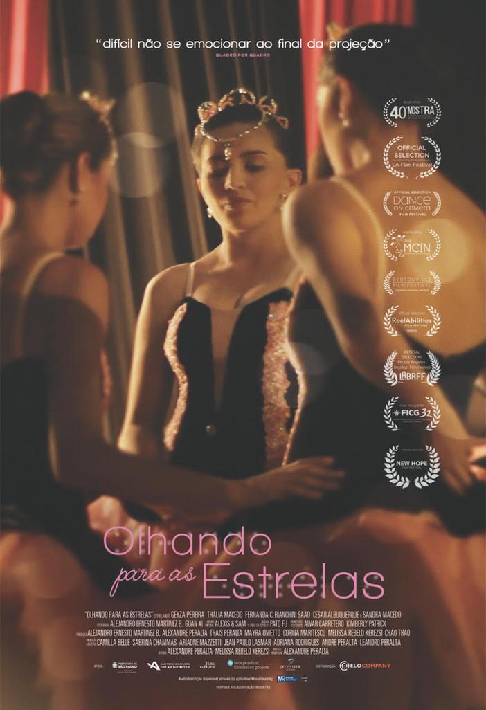 """""""Olhando para as estrelas"""" e a batalha diária de bailarinas cegas"""