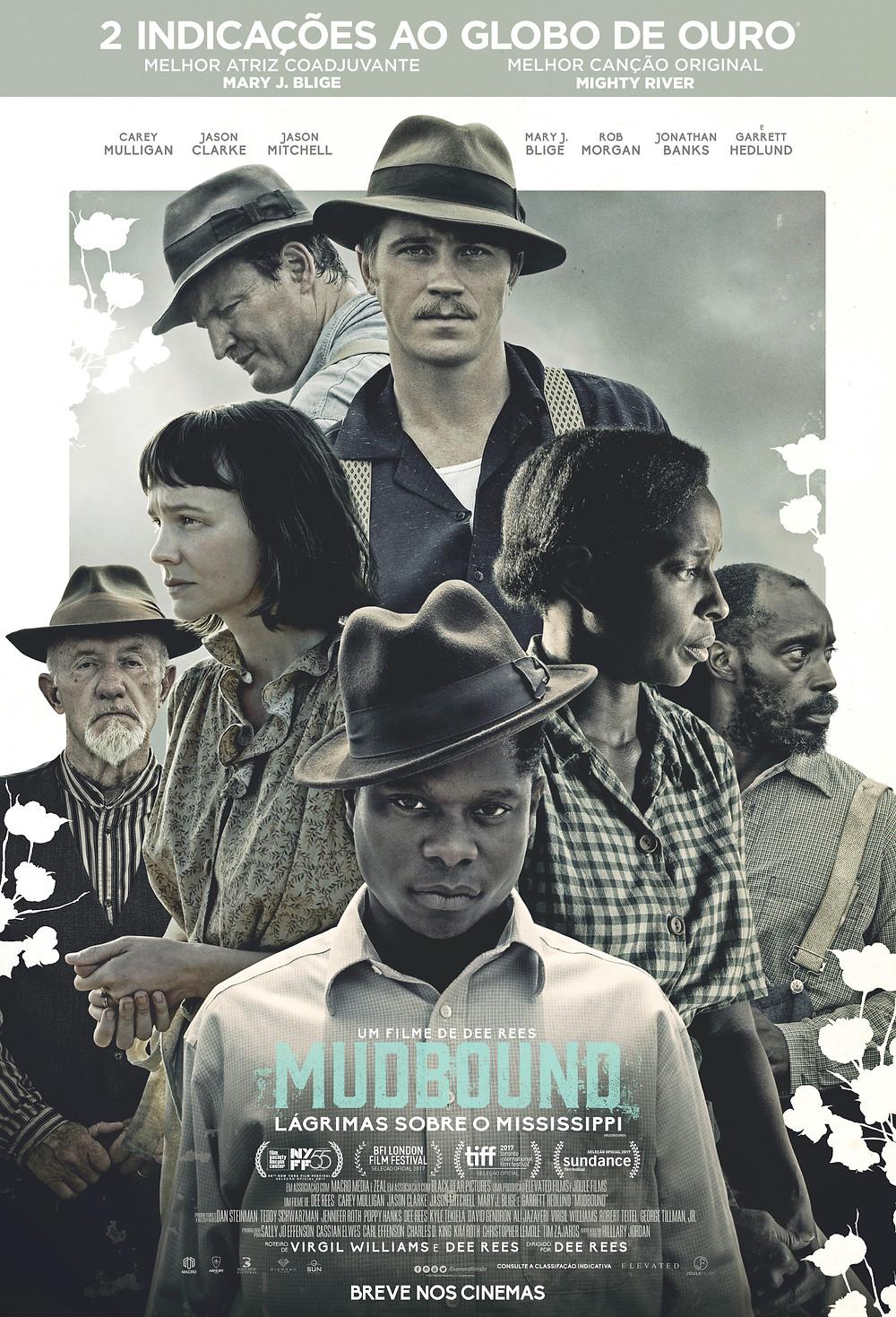 Poster Mudbound - Lágrimas sobre o Mississipi