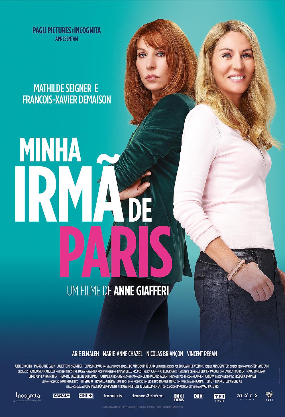 Cartaz Minha Irmã de Paris