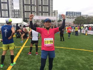 芦屋ハーフマラソンを走りました!