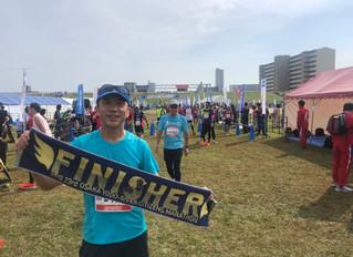 淀川市民ハーフマラソンを走りました!