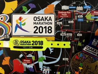 大阪マラソンを走りました!