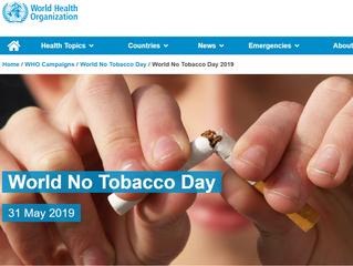 今日は世界禁煙デーです!