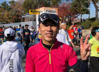 第9回大阪マラソン!