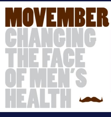 Movember has Begun!