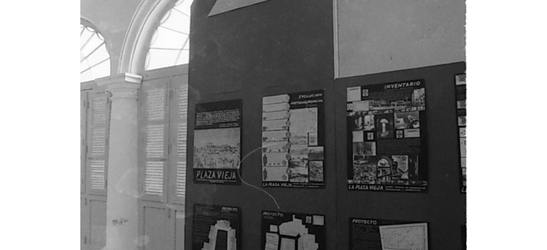 expo arquitectura  joven cubana. La Habana. 1989