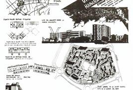 Plan para La Habana (1957) de José Luis Sert y projecto unidad vecinal Habana del Este (1960)