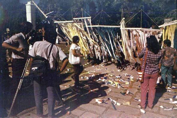 Taller Le Parc. 2da Bienal de La Habana. 1986