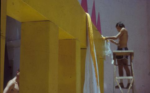 Exposicion Detras de la fachada. luz y oficios. La Habana 1986
