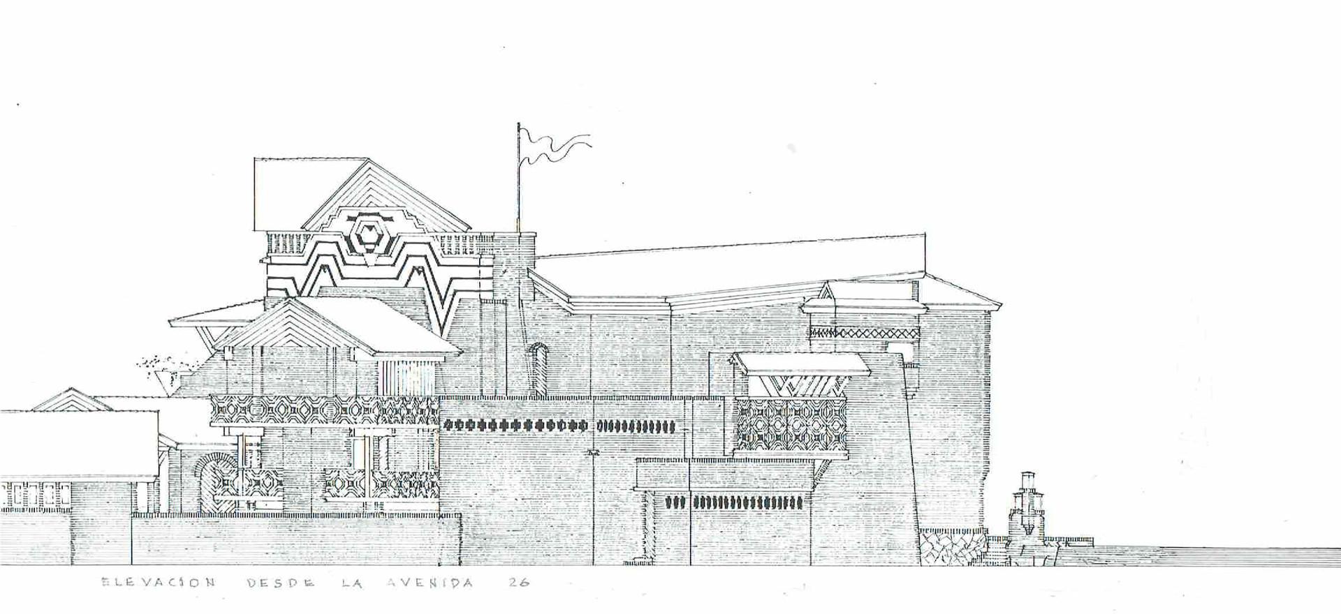 Casa cultura de Velazco. Holguin. Walter Betancourt y Gilberto Segui. 1964 - 1991