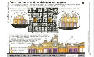 Viviendas en azoteas. La Habana 1988