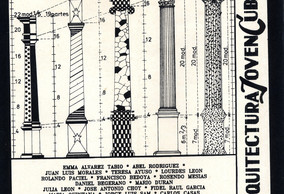 Arquitectura Joven Cubana. centro de Artes Visuales. La Habana.La Habana. 1990