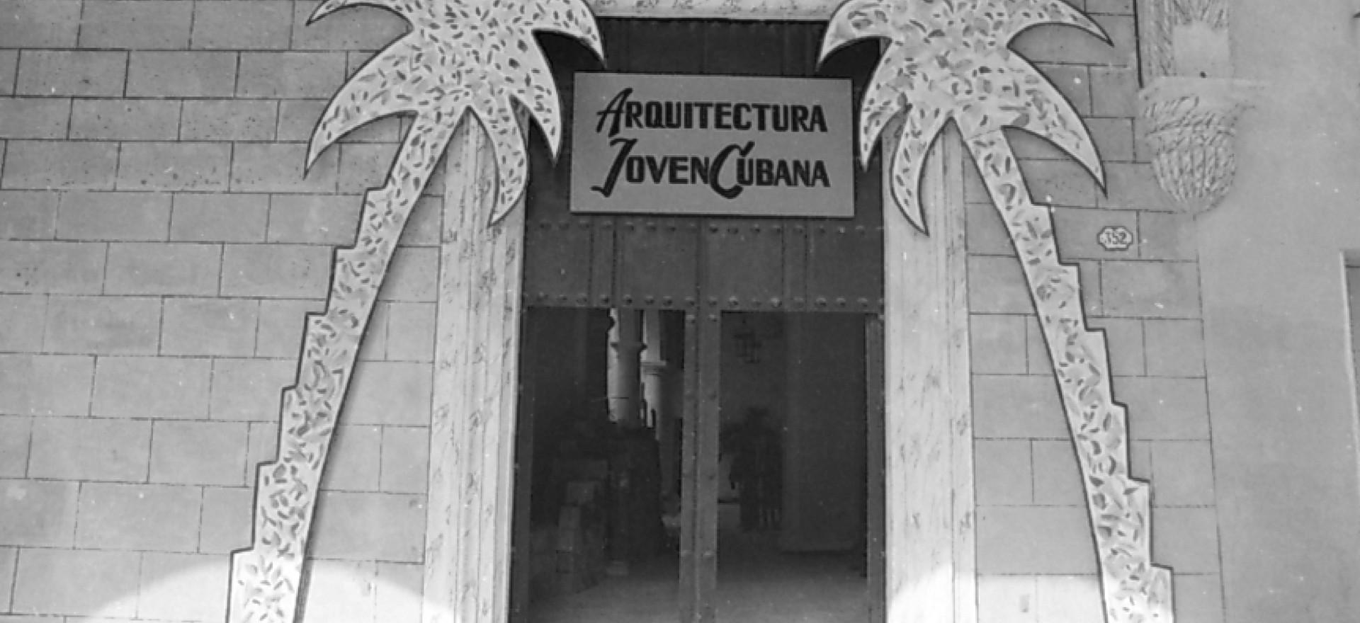 exposicion Arquitectura  joven cubana; Centro artes Visuales. La Habana. 1989