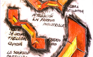 Arte en la fabrica. Cubana de Acero. La Habana 1984