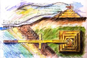 Monumento al desembarco de Cristobal Colon. Bariay. Holguin.1989