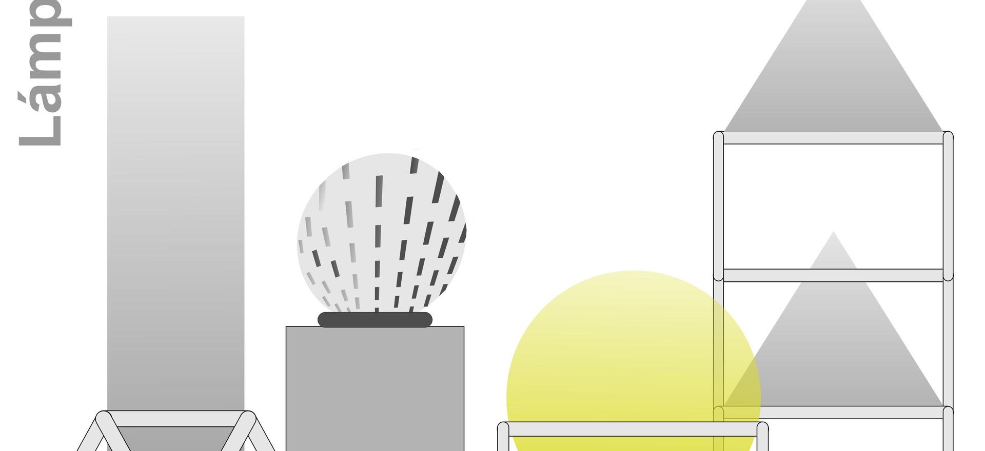 La ciudad de las luces. lamparas-edificios