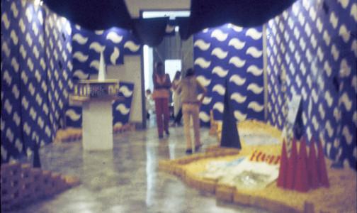 Exposicion Detras de la fachada. Centro Provincial de arte.  luz y oficios
