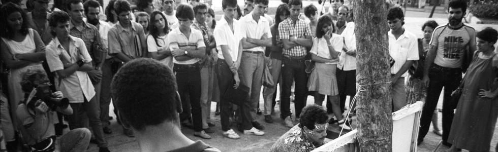 Performances urbanos. La Habana. 1989