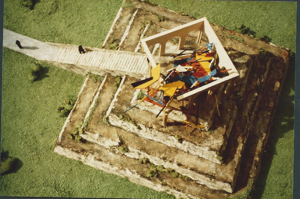 Monumento al desembarco de Cristobal Colon. Bariay. Holguin. 1989