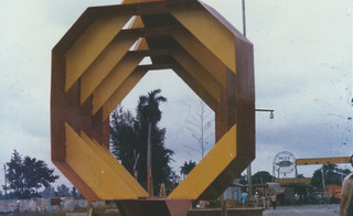 Arte en La fabrica. Cubana de Acero. La habana. 1984