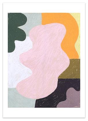 'Dance' art print 50 x 70
