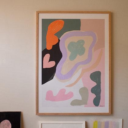 'You and me' art print 50 x 70