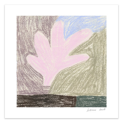 """Leaf"" giclée print 30 x 30"