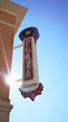Plaza Theatre Sign El Paso