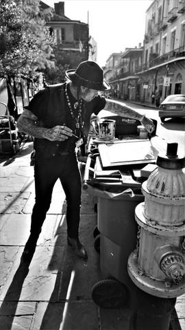 Street Artist, New Orleans