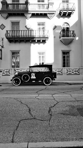 Vintage Car, St. Augustine